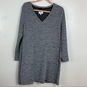 Lou & Grey | V-Neck Sweater Dress
